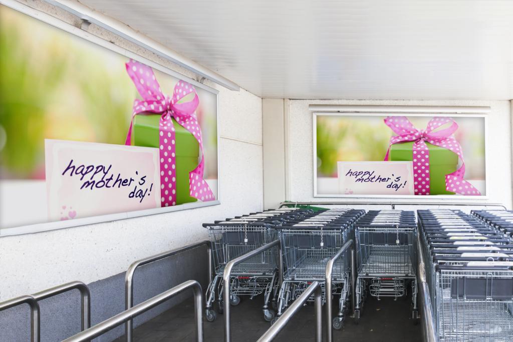 Ilustrasi Kampanye Kado Untuk Ibu dengan Lightbox. Sumber: The Perfect Media