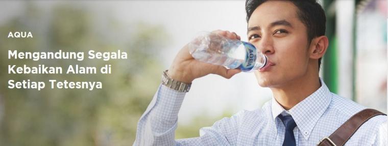 AQUA adalah salah satu merek dengan brand awareness terkuat di Indonesia