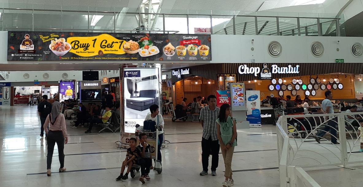 Branding Eksklusif Restoran Chop Buntut di Bandara Kualanamu Medan