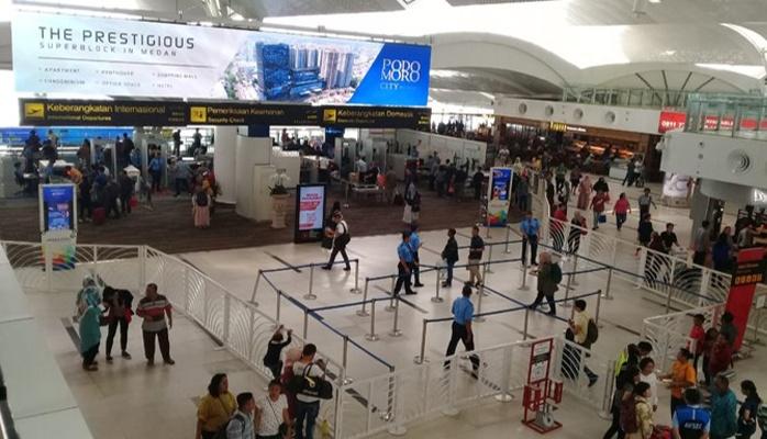Keberangkatan Bandara Kualanamu Medan