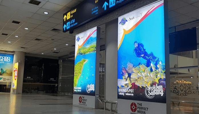 Kedatangan Domestik Bandara Kualanamu Medan