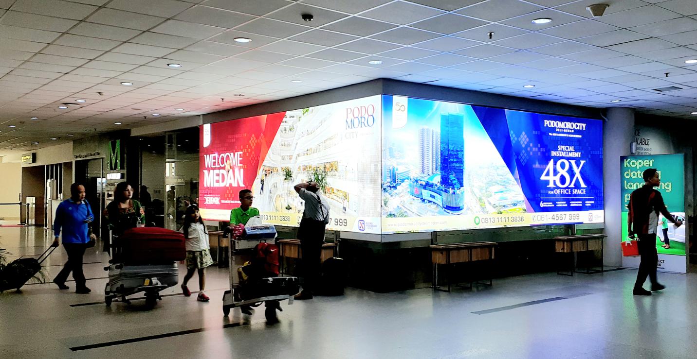 Branding Eksklusif Agung Podomoro Land di Bandara Kualanamu Medan