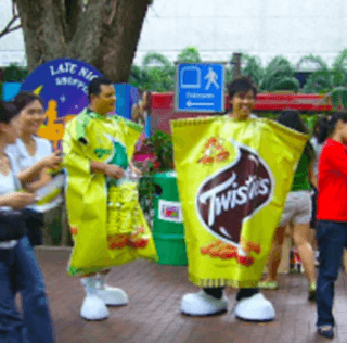 Twisties – Life Size and Edible!