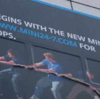 Mini Cars Climbing Buildings Again