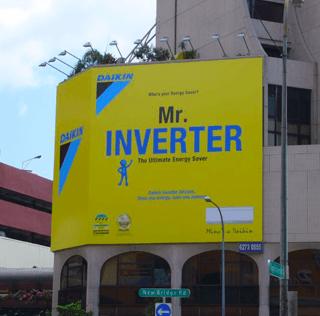 Daikin: Mr Inverter is Everywhere!