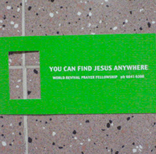 You Can Find Jesus Anywhere