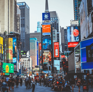 Welcome to Times Square!