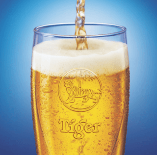Tiger Beer Out of Home Advertising in Singapore and China