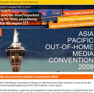 Join the Asia-Pacific Out-Of-Home Media Convention 2009, Macau