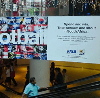 Scream and Shout in South Africa with VISA