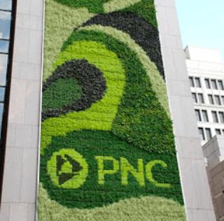 """PNC Green Living Wall"" – A Truly Green Billboard"
