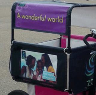 Mobile Billboard Doubles as Free School Bus