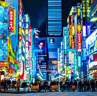 Advertisements in and around Shinjuku, Japan 2011