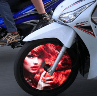 Oddity Central – Thai Tech Company Turns Motorcycle Wheels into Cool LED Screens