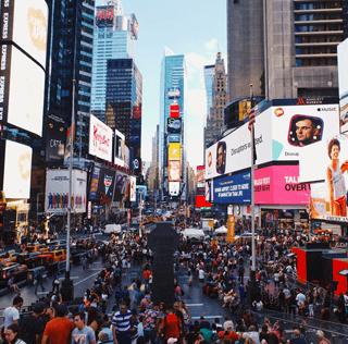 Crain's New York: Times Square lights go digital