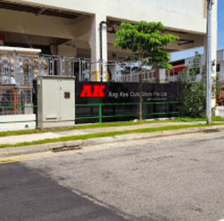 Outdoor Signage Job in Singapore for Factory