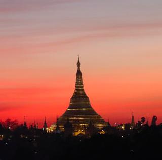 Ngân hàng nước ngoài quảng cáo tại Yangon – Bùng nổ quảng cáo ngoài trời tại trung tâm thành phố Yangon