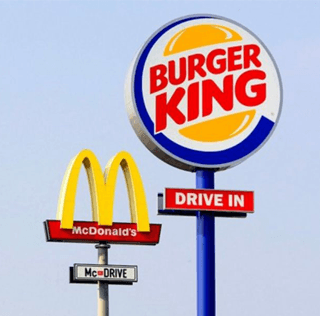 Adweek's McDonald's Billboard Gives Directions to a Burger King Drive-Thru