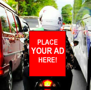 Motorcycle: Outdoor Advertising