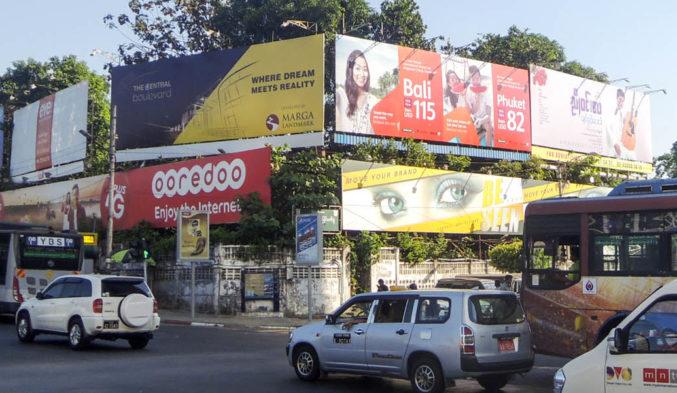 Jestar Asia on TPM Billboard in Myanmar
