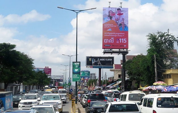 TPM Jetstar Billboard in Cambodia