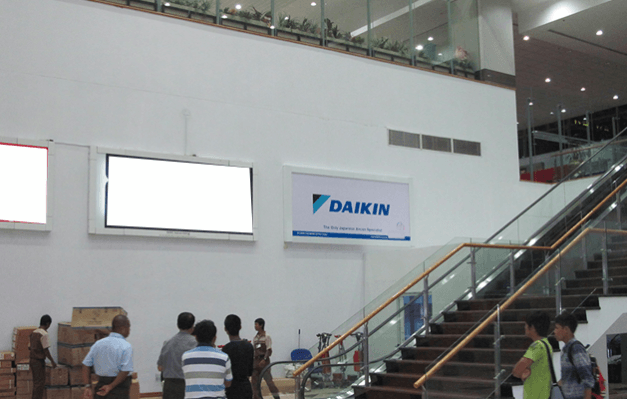 Daikin at Yangon International Airport