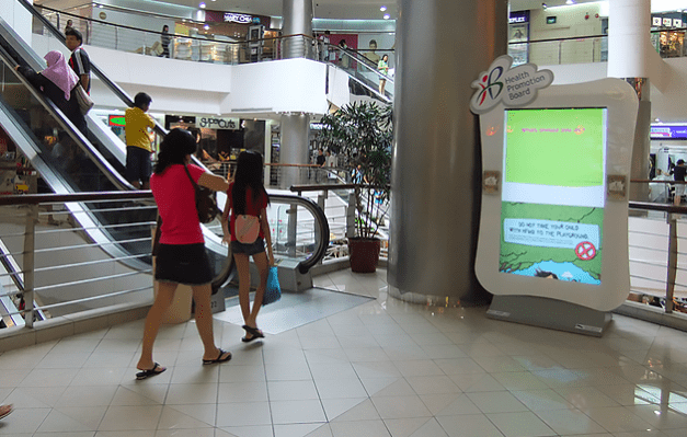 Health Promotion Board at Century Square