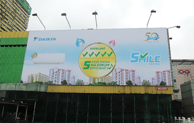Daikin at People's Park Complex