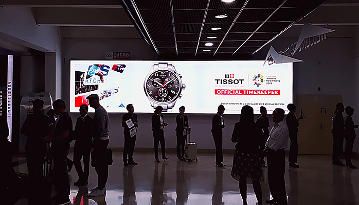 Tissot at Soekarno-Hatta International Airport
