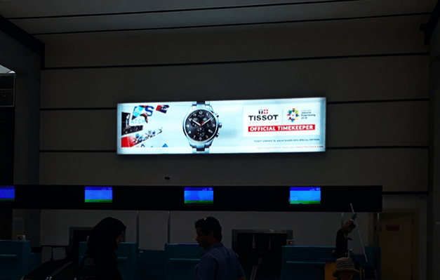 Tissot at Soekarno-Hatta International Airport