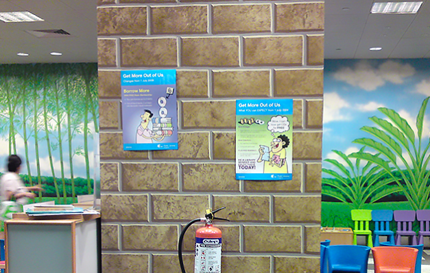 Health Promotion Board at Bugis Central Library