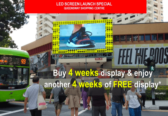 Queensway Shopping Centre Led Screen Upgrade
