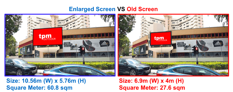 The Perfect Media Queensway Shopping Centre LED Screen Upgrade