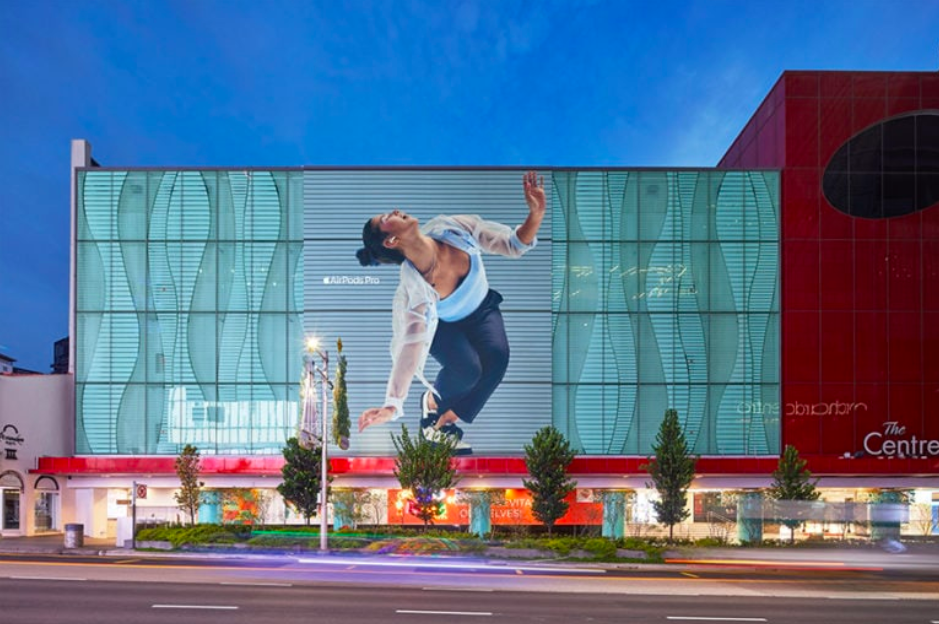 Apple reveals AirPods Pro in billboard campaign at The Centrepoint